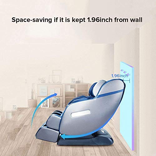 2018 New SL Track Robots Hands Zero Gravity Full Body Space-Saving Massage Chair Recliner, Foot...