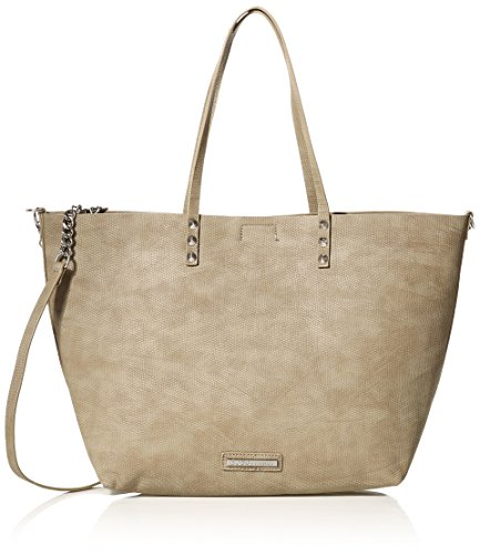 BCBGeneration The Rendezvous Tote Shoulder Bag, Taupe, One Size