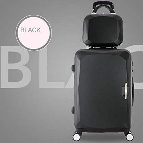 MIKEWEI Trolley Case, Li Box, Female Universal Wheel, Student Travel, Mother and Child, Lock Box,28inch