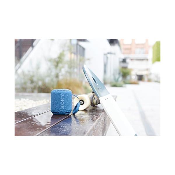 Sony SRS-XB10L Enceinte portable compacte sans fil Bluetooth NFC - Bleu 4
