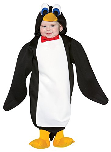 UHC Baby's Penguin Bunting Outfit Infant Newborn Fancy Dress Halloween Costume, 3-9M (Penguin Mascot Costume)