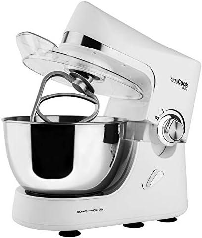 Robot de cocina KR200 1200W AMICOOK, color blanco: Amazon.es: Hogar