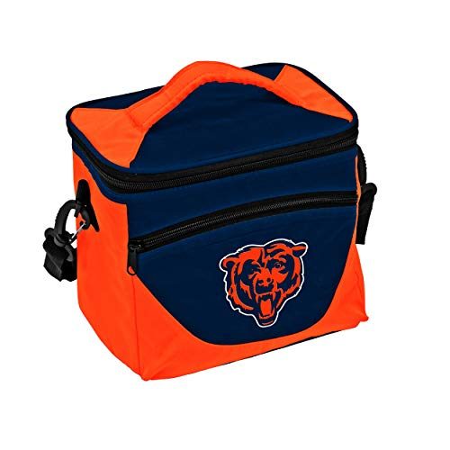 Cooler Bears - Logo Brands NFL Chicago Bears Halftime Lunch Cooler, One Size, Navy