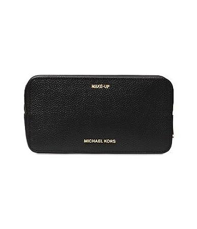 53e55d8efe37 Image Unavailable. Image not available for. Color  Michael Kors Mercer  Large Double Zip Travel Pouch - Black