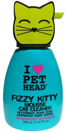The Company of Animals Pet Head Fizzy Kitty Strawberry Lemon