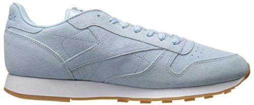 wiki sale online Reebok Men's Classic Lthr Pastels Fashion Sneaker Fresh Blue/Classic White/Coal-gum huge surprise online VFKIY07wu