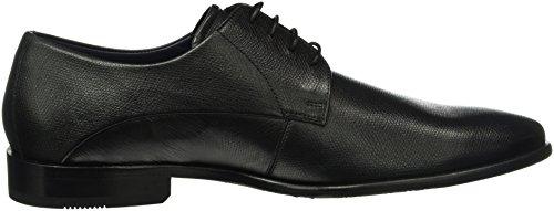 Daniel Hechter 811219021000, Zapatos de Cordones Derby para Hombre Negro - Schwarz (Schwarz 1000)