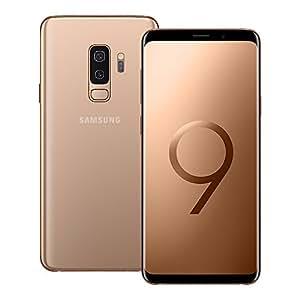 Samsung Galaxy S9 Plus (SM-G965F/DS) 6GB/128GB 6.2-inches LTE Dual SIM Factory Unlocked - International Stock No Warranty (Sunrise Gold)