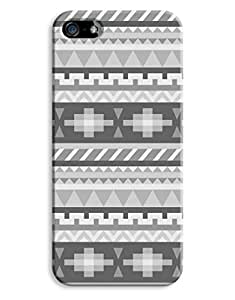 Black and White Aztec Case for your iPhone 5/5S