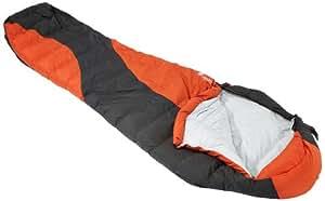 Lafuma Schlafsack Lightway 35 - Saco de dormir momia para acampada, color rojo, talla 35