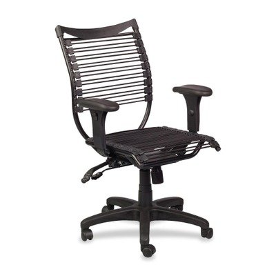 Balt Seatflex Managerial Office Chair, Swivel/Tilt Chair with Arms, Black (34421)