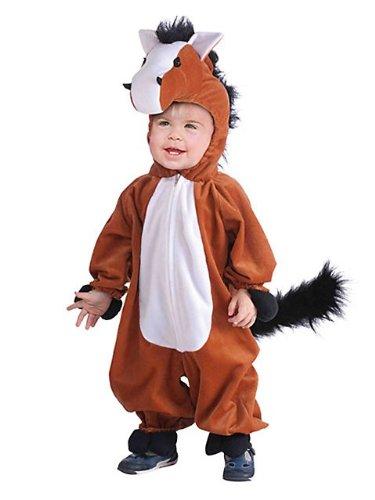 Horse Plush Kids Costume