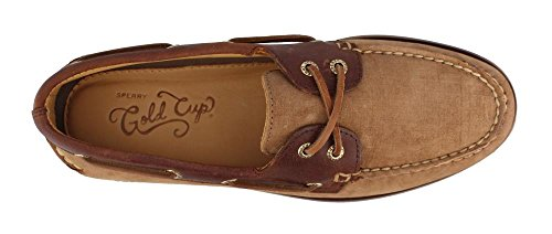Sperry Top-sider Gold Cup Authentieke Originele Bootschoen Tan