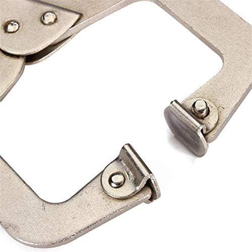プライヤーツールCタイプ溶接クランプ圧着プライヤー木工クリップ9インチアイプライヤーツール