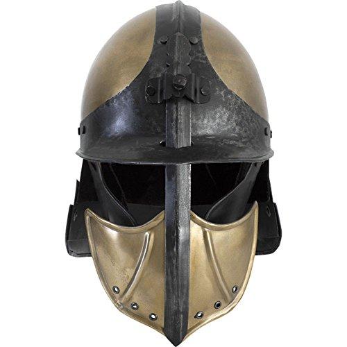 (Armor Venue: Ratio Helmet - LARP Armor Samurai Costume Helm Large)