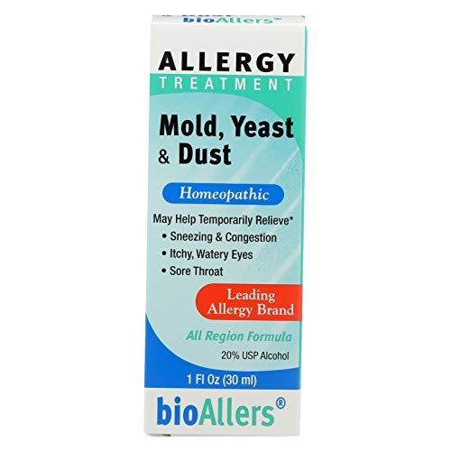 - BioAllers Allergy Treatment Mold Yeast and Dust - 1 fl oz