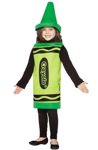 Rasta Imposta Crayola Green Toddler Costume,Green,4-6X