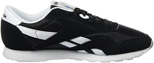 black Basses Femme white Multicolore Nylon Reebok 43 Eu Baskets 000 Cl ftqxwPf7Y
