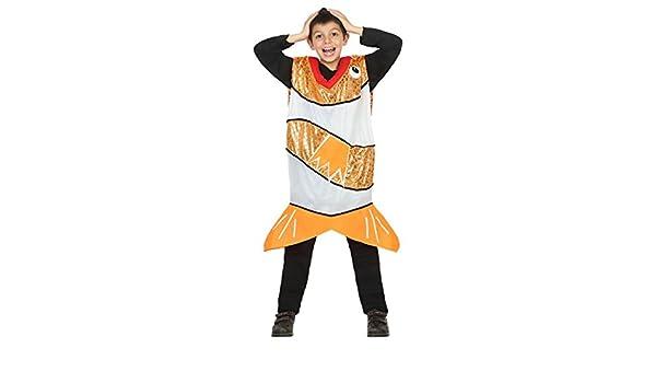 Atosa-30779 Disfraz Pez, Color Naranja, 10 a 12 años (30779 ...