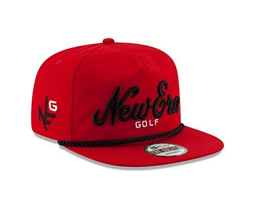 New Era The Golfer Script Logo Snapback Cap (Scarlet 285fc98f1b4
