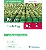 [(Edexcel A2 Psychology Student Unit Guide: Unit 4 How Psychology Works)] [Author: Christine Brain] published on (August, 2012)