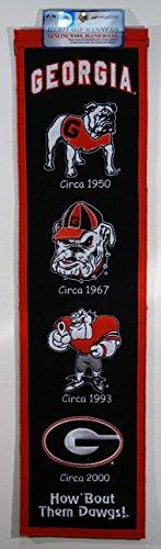 NCAA Georgia Bulldogs Heritage Banner -