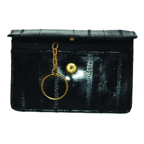 Skin Eel Purse (Genuine EeL Skin Leather Womens Coin Change Purse #E855)