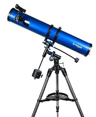 Meade Instruments 216004 Polaris 114 EQ Reflector Telescope (Blue)