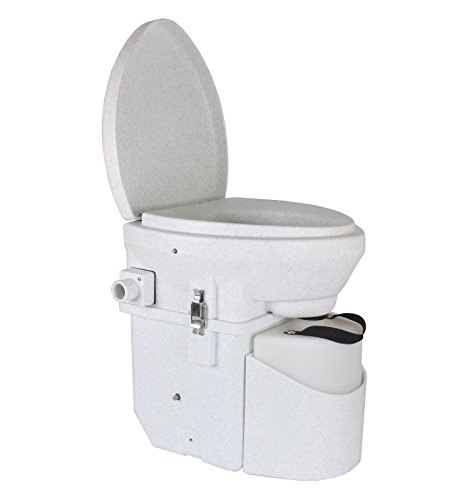 - Nature's Head Self Contained Composting Toilet with Close Quarters Spider Handle Design
