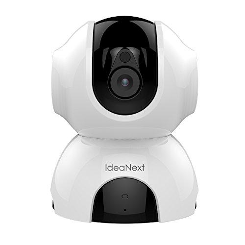 IdeaNext HD 960P Innen WLAN Kamera Schwenk-Neige-IP Kamera Zuhause Monitor via IR-Nachtsicht mit Micro SD-Karten-Slot