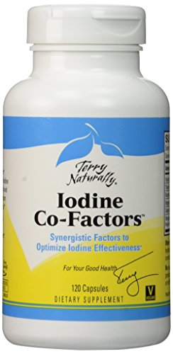 Terry naturellement iode co facteurs, 120 Capsules (FFP)