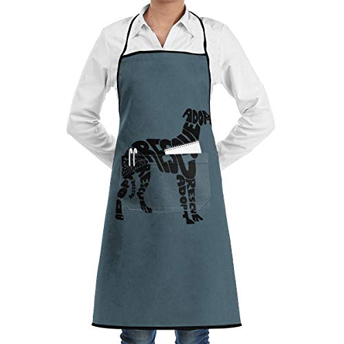 Kitchen Chef Bib Apron Romp Italian Greyhound Rescue