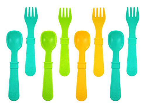 Re Play Count Utensils Green Yellow