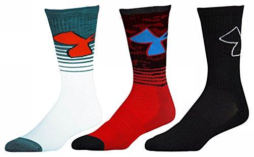 3pk Sport Crew Socks - 7