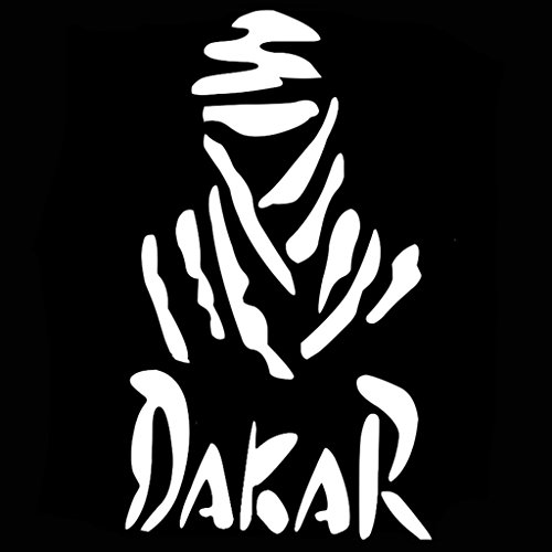 Dakar Rally Vinyl Decal Sticker | Cars Trucks Vans Walls Laptops Cups | White | 5.5 inches | KCD995