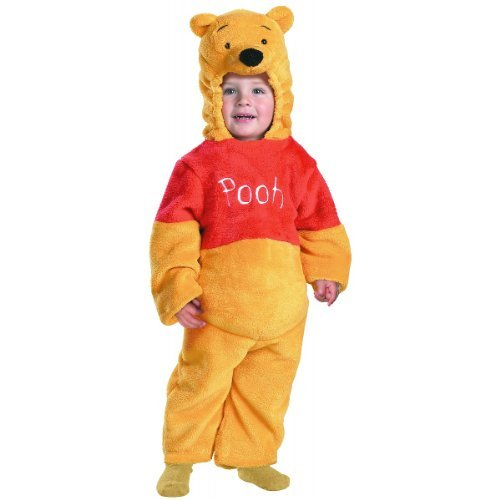 Pooh Bear Woman Costume (Deluxe Winnie The Pooh Toddler Costume - Toddler Small)