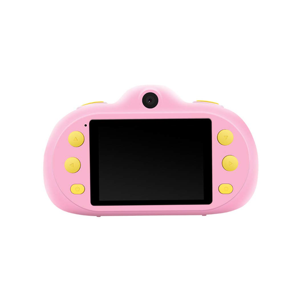 Poniu Kids Camera 8.0mp Rechargeable Children Shockproof Digital Photography Camcorders New Gifts
