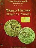 World History, Holt, Rinehart and Winston Staff, 0030533783