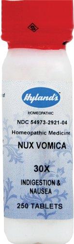 (HYLANDS Nux Vomica 30X 250 TAB)