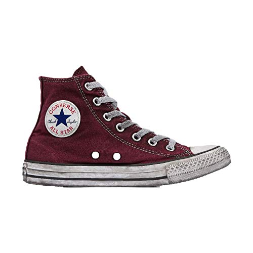 Bordeaux Vintage 160152c Canvas Ltd 5 Converse 39 Ctas Sneakers Hi Bordeaux BqxvAfw