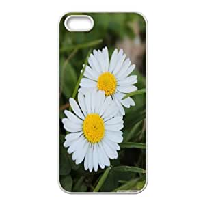 Cest Le Printemps! IPhone 5,5S Cases, Iphone 5s Case for Girls Young Okaycosama - White