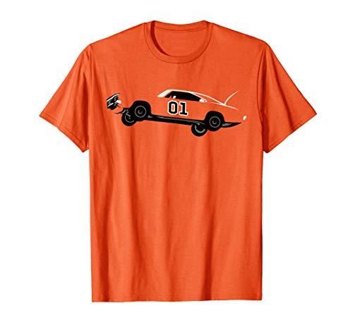 1969 Dodge General Charger Dukes Lee T-Shirt (1969 Dodge Charger General Lee For Sale)
