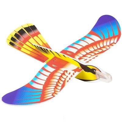 """Stocking Stuffers /& Fillers Kicko 7/"""" Foam Bird Glider Kite for Kids Field Trip Perfect for Outdoor and Open-Air Activities 24 pc Flying Colorful Paragliding Game on Summer Vacation Play Parks"""
