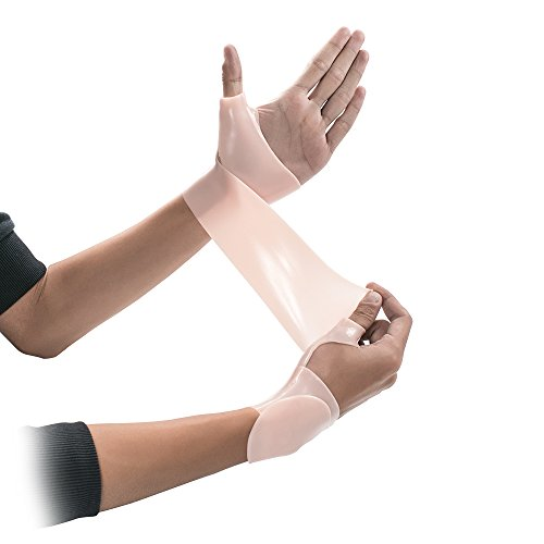 Gel Wrist Support Wraps Braces for Right or Left Hand for Man or Woman. for Yoga