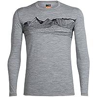 Icebreaker Oasis LS Crewe Pyrenees - Camisetas Hombre