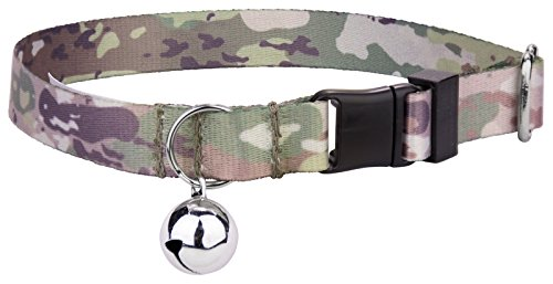 Product image of Country Brook Petz   Mountain Viper Camo Featherweight Cat Collar