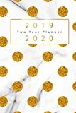 2019-2020 Two Year Planner: Gold Dots Cover, 2 Year Calendar 2019-2020, January 2019 to December 2020, 2019-2020 Monthly Calendar, 2019-2020 Academic ... Two Year Calendar