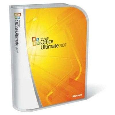 Microsoft Office Ultimate 2007 UPGRADE [DVD] [Old Version] (Microsoft Office 2007)