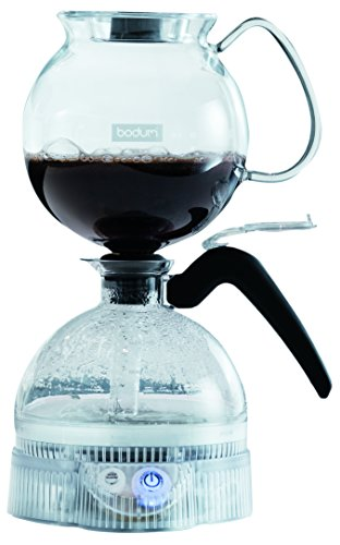 Bodum ePEBO Coffee Maker, Electric Vacuum Coffee Maker, Siphon Coffee Brewer, Black, 34 Ounces. Bodum Glass Bowls