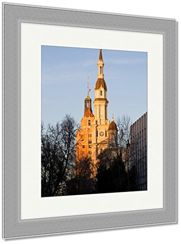 Ashley Framed Prints Catholic Church, Wall Art Home Decoration, Color, 35x30 (frame size), Silver Frame, AG6514711 by Ashley Framed Prints